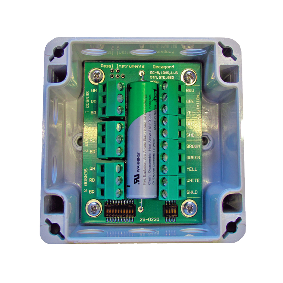 CHAIN NODE INTERFACE FOR 3 METER GROUP SENSORS</br>