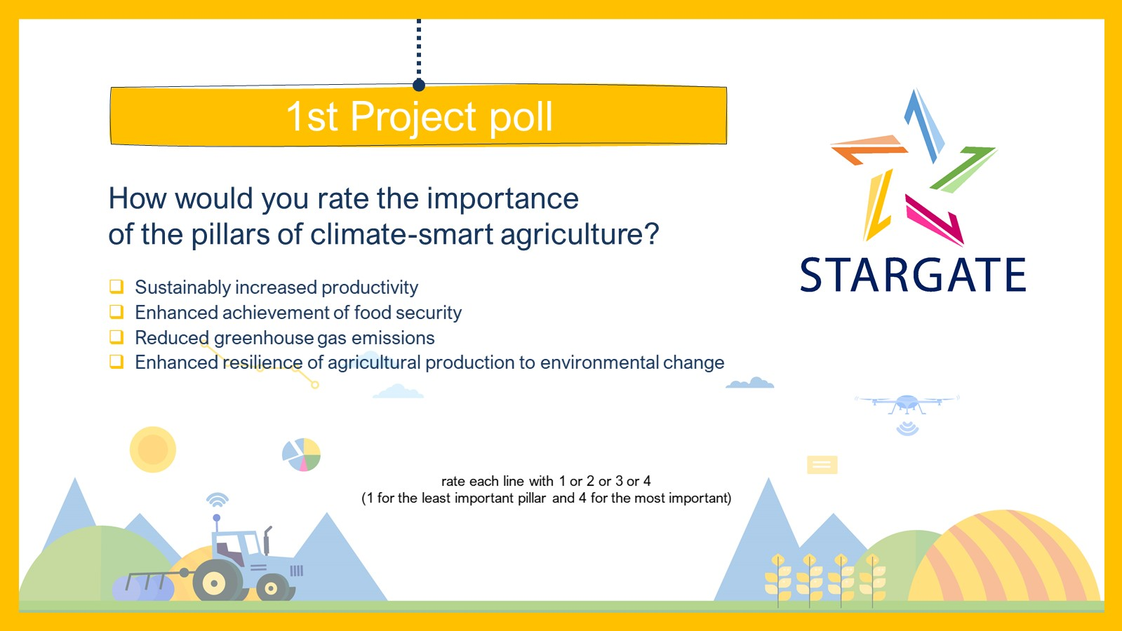 STARGATE project, poll, Pessl Instruments