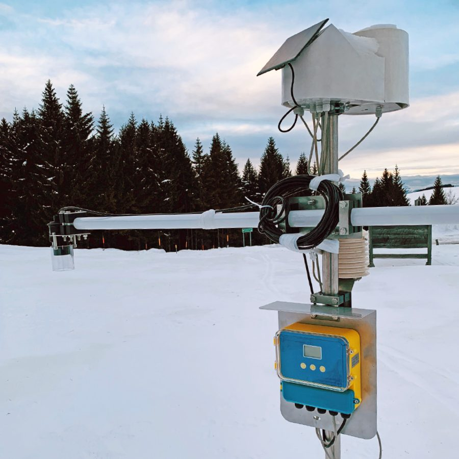 PESSL INSTRUMENTS ULTRASONIC SNOW HEIGHT OR WATER DEPTH SENSOR