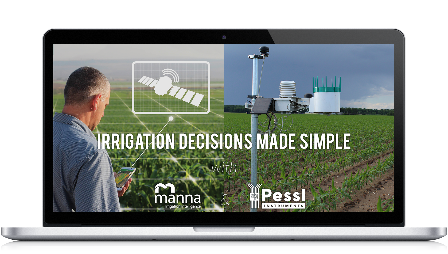 Manna Irrigation and Pessl Instruments partnership for better irrigation management